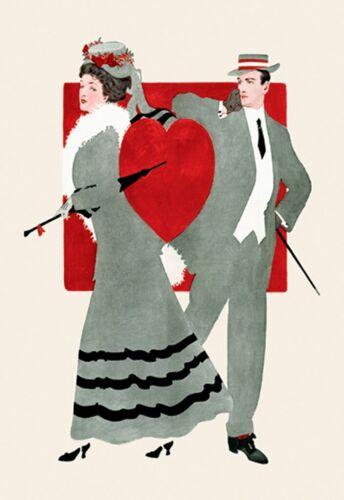Valentine 1909 Life Magazine Coles Phillips