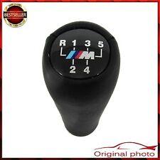 BLACK 5 SPEED GEAR SHIFT KNOB BMW E30 E34 E36 E39 E46 M TECH TOP QUALITY