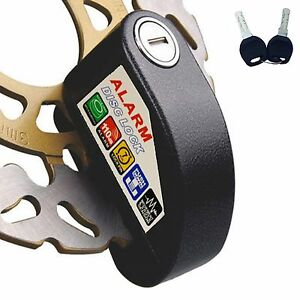 Security Anti Thief Motorbike Motorcycle Scooter Wheel