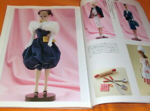 Barbie-Encyclopedia-book-from-Japan-vintage-fashion-dolls-Japanese-0853