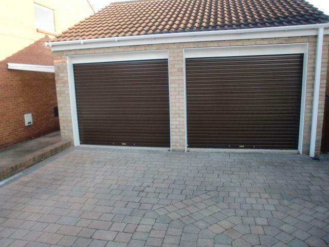 High Security Autoroll Electric Roller Shutter Garage Door 8ft X 7ft