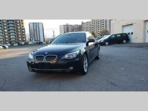 2008 BMW 5 Series 535xi AWD, Leather, Sunroof, A Clean Car, Certified