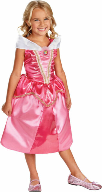 82fc1dc560f2f Aurora Sparkle Disney Sleeping Beauty Classic Child Costume Medium 8