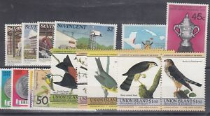 St-Vincent-Collection-of-Sets-x4-Birds-Cricket-Mint-VFU-J1277