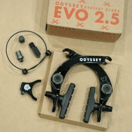 ODYSSEY BMX BIKE EVO 2.5 BLACK BICYCLE U-BRAKE EVOLVER PRIMO SUNDAY COLONY
