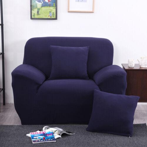 Stretch Sofabezug Sofahusse Sesselbezug Sofa Bezug Spannbezug Husse 1-4 Sitzer