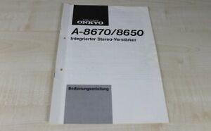 Onkyo-A-8650-A-8670-original-Bedienungsanleitung-Deutsch-2