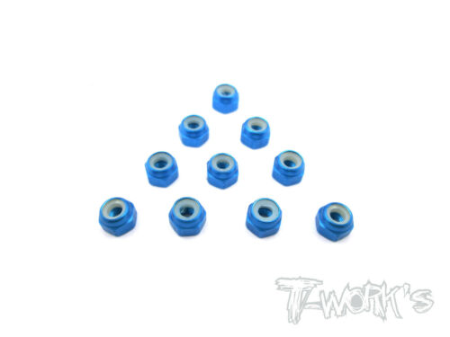 T-Work/'s Aluminium Lock Nuts 3mm