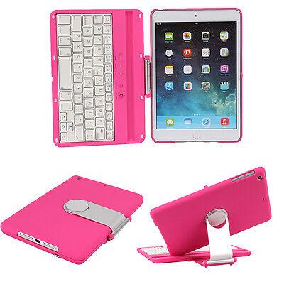 Swivel Rotary Bluetooth Keyboard Case Cover For iPad Mini 3&1&Retina2 W/Stand US