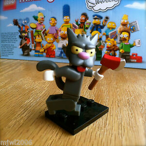Lego 71005 The Simpsons Scratchy Axe Cat Minifig Minifigure Series 1