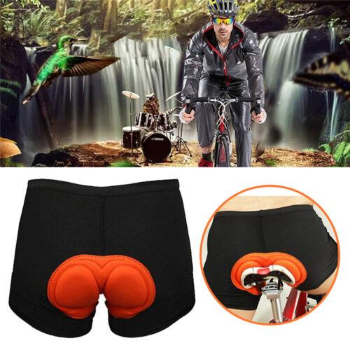 3D Padded Cycling Mountain Shorts Bike Pants Bicycle MTB Gelly Sponge Pad Unisex