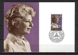Maxi Card B19 Liechtenstein 1983 Princess Gina