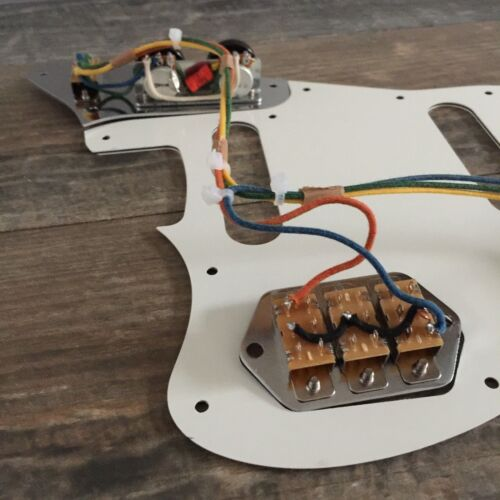 Fender Jaguar 62 Wiring Harness Vintage Wiring Vintage ... on fender jaguar manual, fender jaguar switches, fender jaguar wiring kit, fender esquire wiring harness, fender jaguar hardware, fender stratocaster wiring harness,