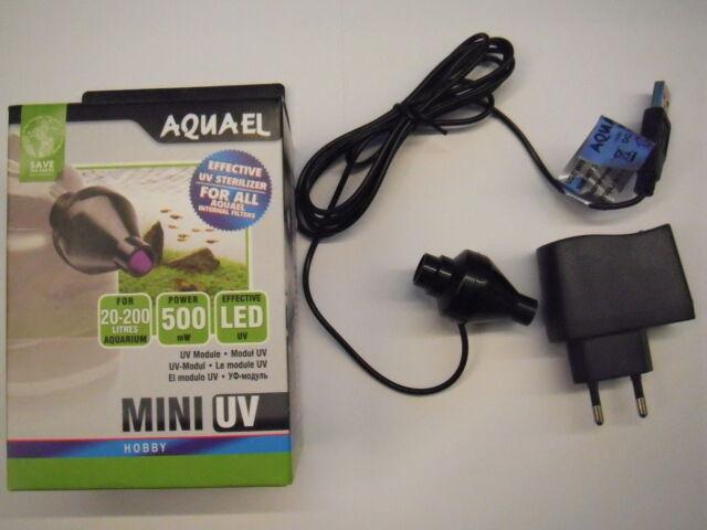 Aquael UV Sterilisator Sterilizer 0,5W LED UV-C-Klärer für UniTurbo FAN Filter