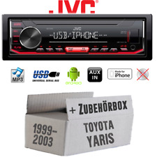 1999-2003 Einbauset DIN Autoradio für Toyota Yaris