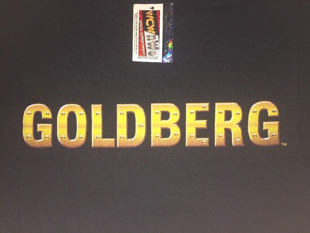 WCW Bill goldberg  Who's Next  T Shirt XXL 2XL 1998 NEW WITH TAGS NWO WWE WWF