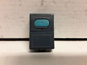 Vintage-clicker-single-button-Garage-Door-amp-gate-remote-opener-fob-MJN200A