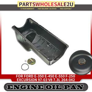 Engine Oil Pan For Ford Excursion E 350 E 450 E 550 F 250 Super Duty 97 03 7 3l Ebay