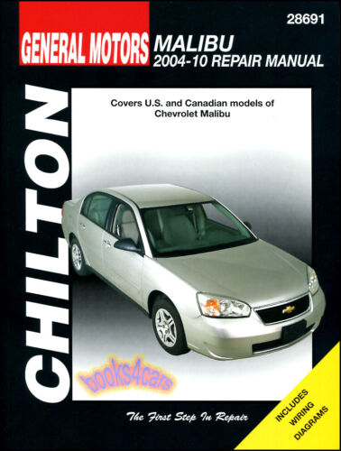2004-2010 Malibu Repair Manual from Chilton #28691