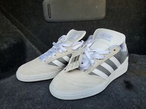 Adidas Busenitz Trainers white Suede