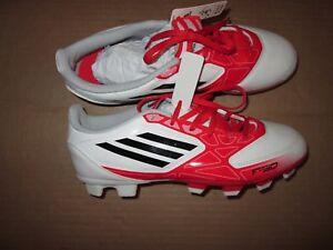 Tacchetti Scarpe Bianco calcio Sz F e Rosso Womens Nwt 5 da 7 50 Adidas Nero aUYqY
