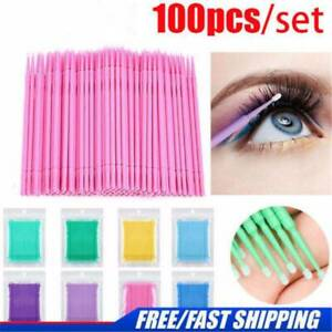 100PCS-Disposable-Eyelash-Extension-Micro-Brush-Swab-Applicators-Mascara-Tools