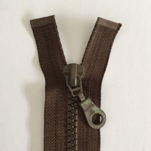 HOT Plastic Resin Slider Teeth Open Ended Zipper Separating For Clothes Coat