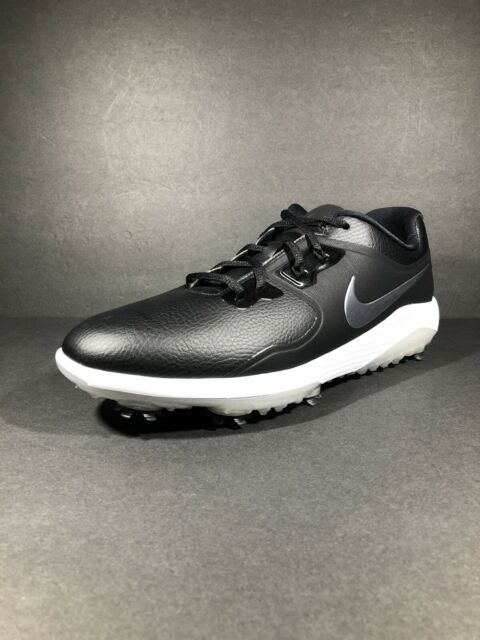 Nike Men's Vapor Pro Golf Shoes Black White AQ2197-001 New Size 9