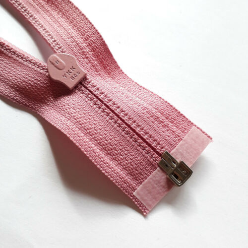 Cremallera rosa malva 070 tamaño 5 divisible ykk Zipper cremallera cipzár רוכסן