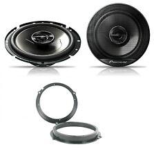 Ford Fiesta MK7 2008 onwards Pioneer 17cm Front Door Speaker Upgrade Kit 240W