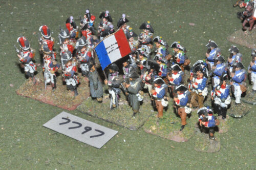 25mm napoleonic french revolutionary war infantry 36 figs metal inf 7797