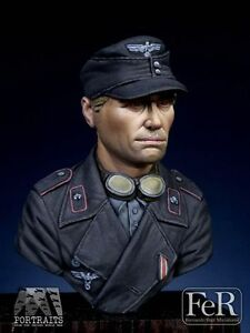 FeR Miniatures 120mm Mini Bust - Panzer Crewman Resin Model - 40847