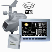 Solar Powered Wireless Weather Station