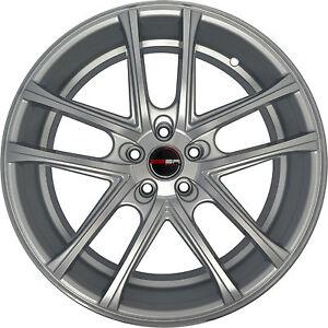 4 Gwg Wheels 22 Inch Silver Zero Rims Fits Toyota Venza 2009 2018