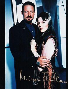 OFFICIAL WEBSITE Mira Furlan as Delenn in BABYLON 5 8x10 AUTOGRAPHED