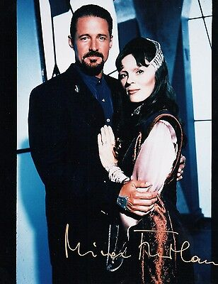 Autographs The Cheapest Price Official Website Mira Furlan As Delenn In Babylon 5 8x10 Autographed Exquisite Traditional Embroidery Art