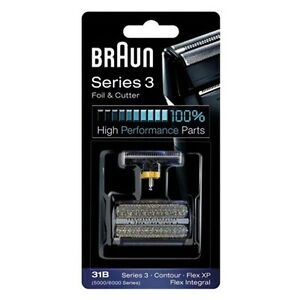 31B-BRAUN-Rasoir-Grille-amp-Couteaux-5000-6000-Series-Shaver-Foil-amp-Cutter-Replacement