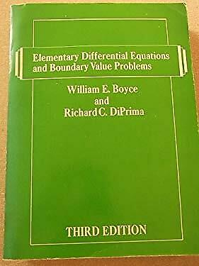 Elementary Differential Equations and Boundary Val Ue by WIE, WE