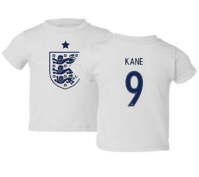 England 2018 Soccer #9 Harry KANE World Cup Kids Toddler T-Shirt