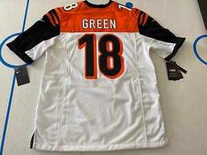 Details about Nike NFL Cincinnati Bengals AJ Green On Field Jersey 912215-102 Men's Size L