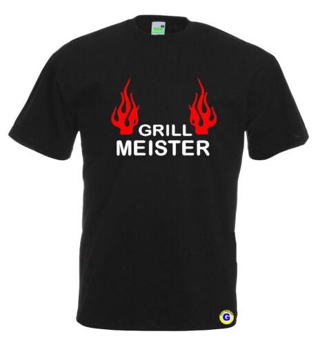 Barbecue maître t-shirtbarbecuegrillerloisirssortamusant 10-585-02