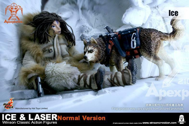 Hot Toys Apexplorers - Ice & Laser Figure Normal Ver. 1/6 Figure