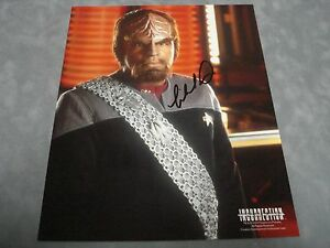 AUTHENTIC-STAR-TREK-INSURRECTION-MICHAEL-DORN-SIGNED-8X10-PHOTO-COA