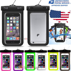 lowest price aa3c2 99998 Details about Waterproof Underwater Phone Pouch Bag Case Cover For Iphone  Samsung Cell Phone