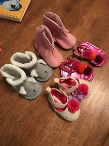 Baby Girl Shoes 0-6 Months Lot | eBay