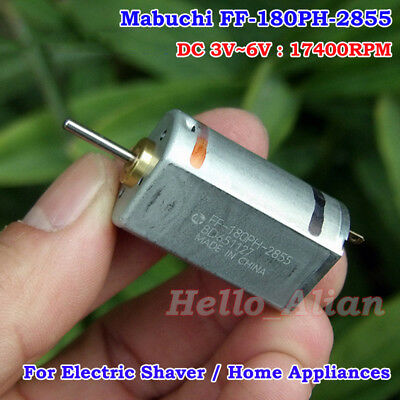 FF-180PH DC Motor 3-6V 21800RPM High Speed Precious Metal Brush for DIY Toy