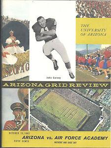 U-of-Arizona-vs-Air-Force-Academy-Football-Program-1962