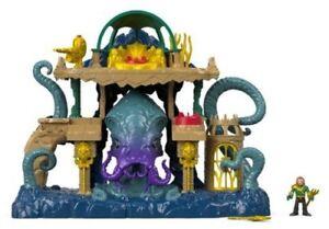 Fisher-Price-Imaginext-Aquaman-amp-Atlantis-Playset-New-Toy-Toy