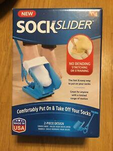 Sock-Slider-As-Seen-On-TV-2-Piece-Design-Comfortably-Put-On-amp-Take-Off-Socks