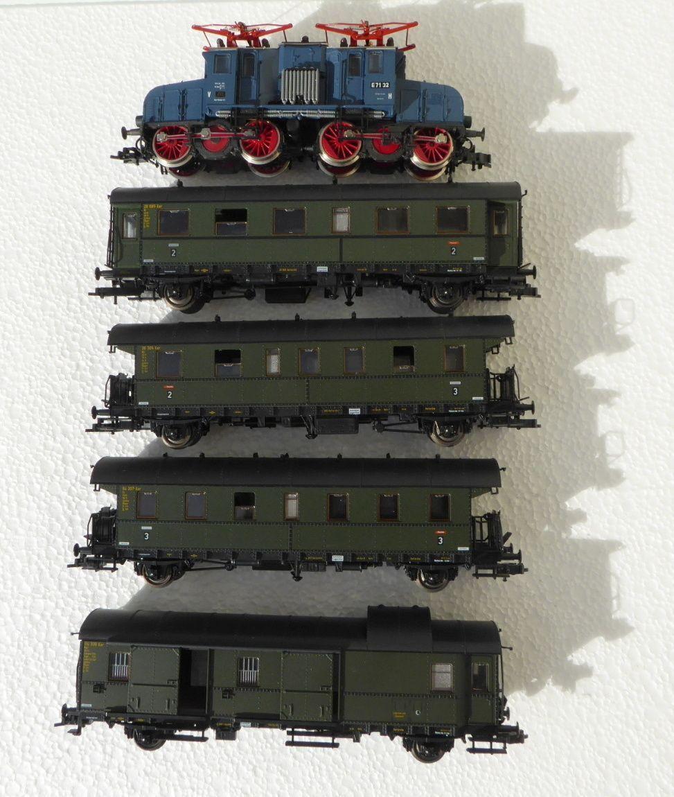 ROCO 43031 5 5 5 pezzi Giubileo Set da 40 anni dB E-Lok e 71 32 senza libro i. OVP 36b579